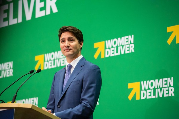 Trudeau women deliver
