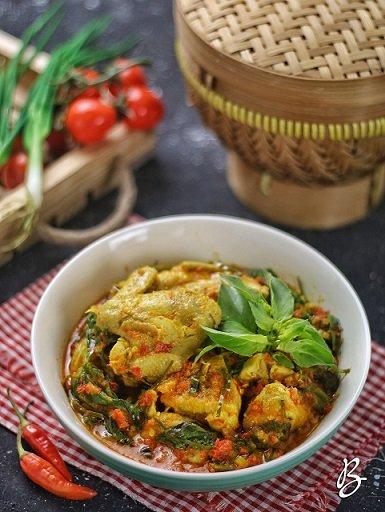 ayam woku pedas nagih