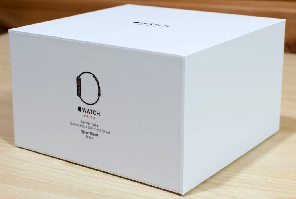 Apple Watch ステンレスモデル 化粧箱