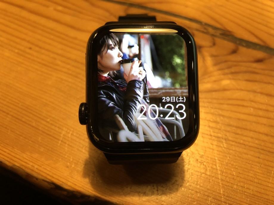 大画面のApple Watch series4