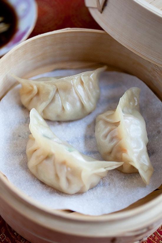 Steamed Dumplings | Easy Delicious Recipes