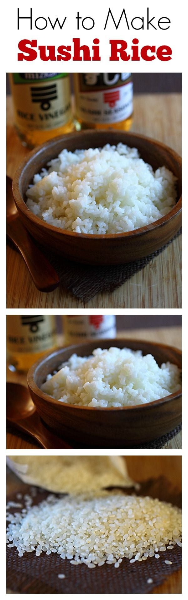 Sushi Rice (The Best Recipe Online!) - Rasas Malaysia