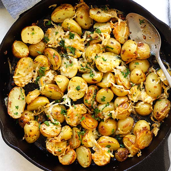 Image result for italian roasted potatoes
