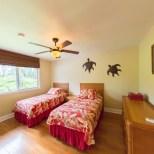 Twin Beds in 3 Bedroom Home