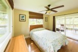 Queen Bed in 3 Bedroom Attached Lanai