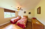 Twin Beds in 3 Bedroom Home