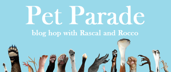 Pet Parade blog hop linky party