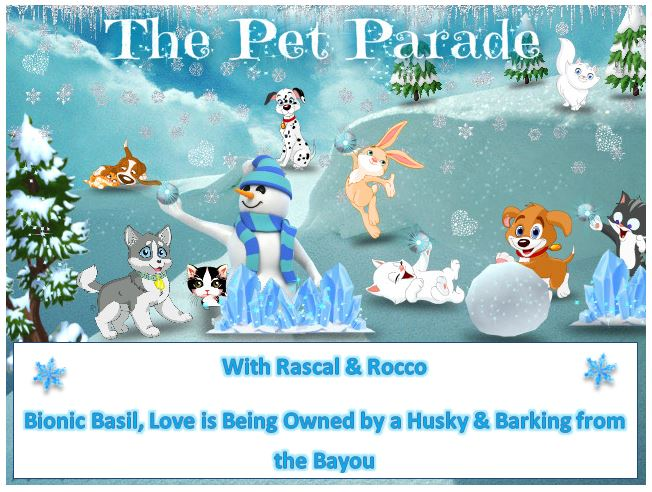 Celebrate winter time with the pet parade, where all your favorite pets and animals can be found