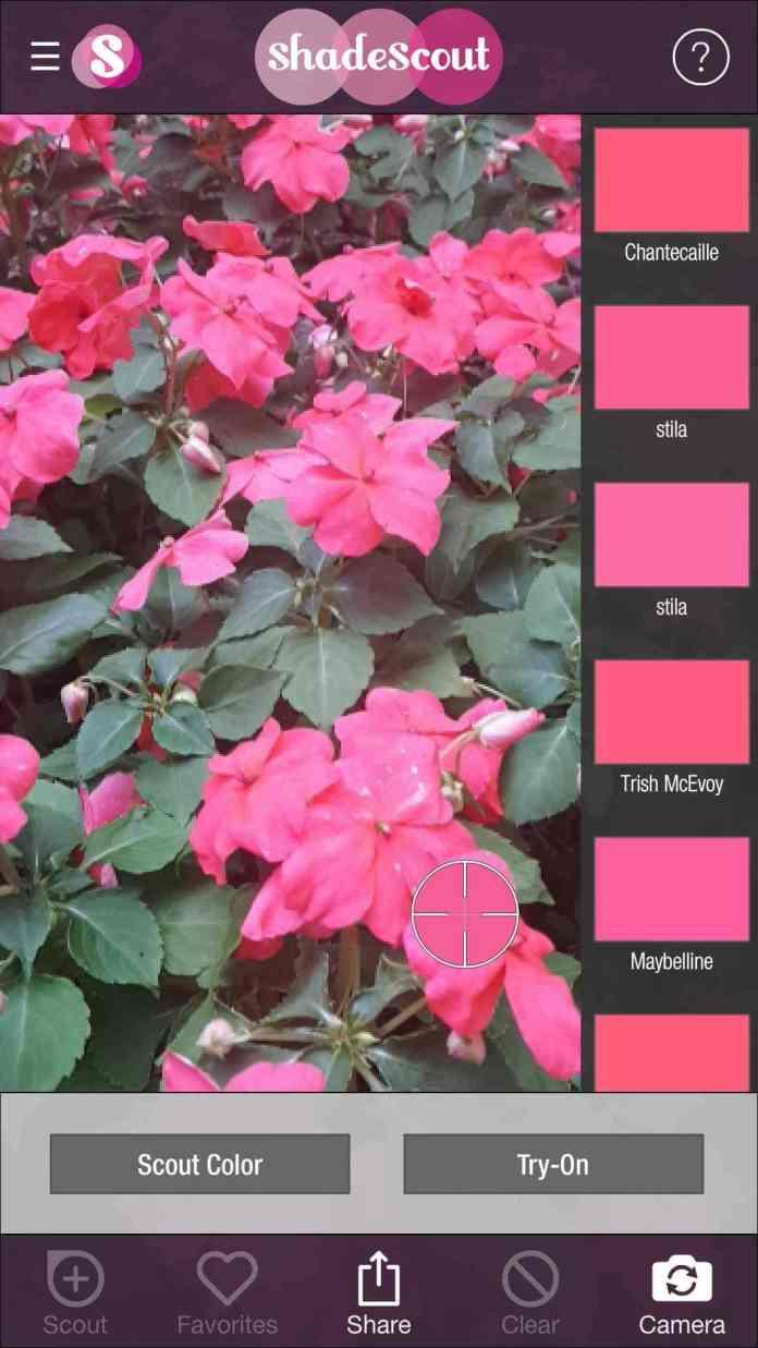 ShadeScout App Screenshots