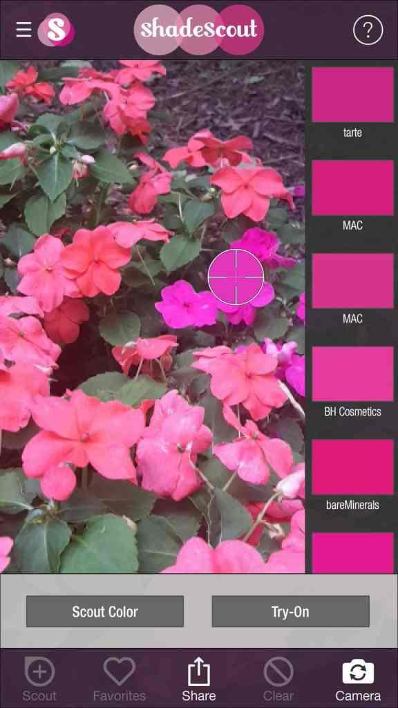 Shade Scout App Screenshots