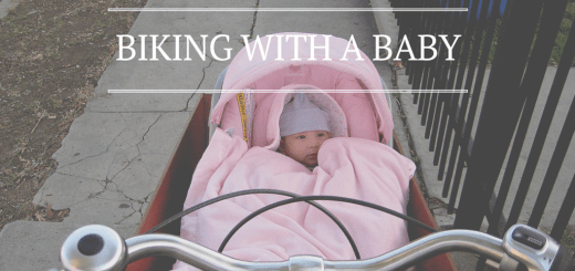 Biking with a Baby