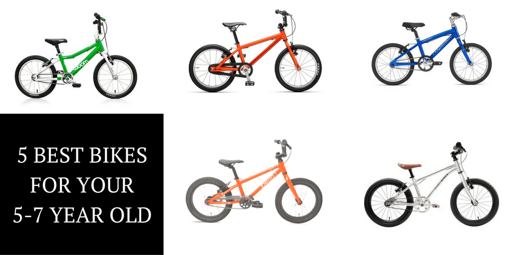 The 5 Best Pedal Bikes for Your 5 to 7 Year Old (16 Inch and 18 Inch Bikes)