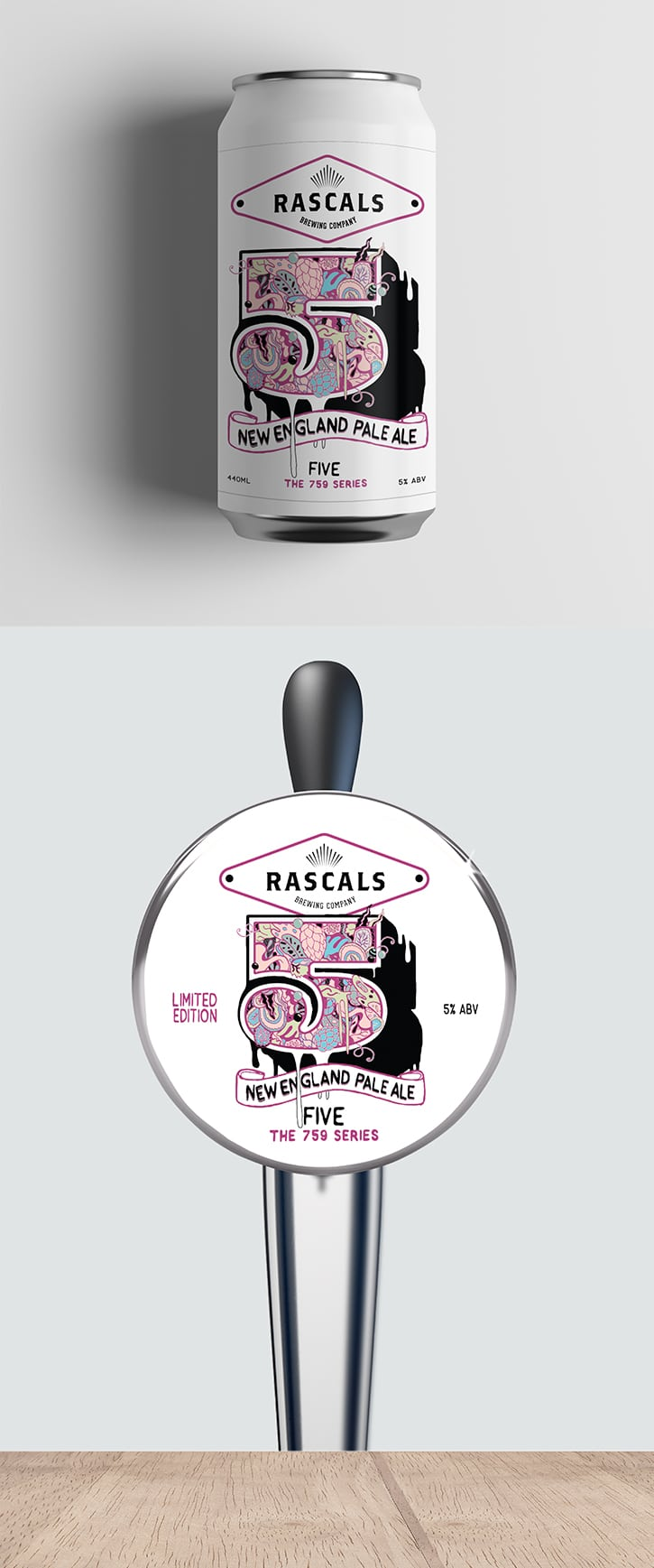 Rascals Craft Brewing 5 New England Pale Ale Tasting Notes