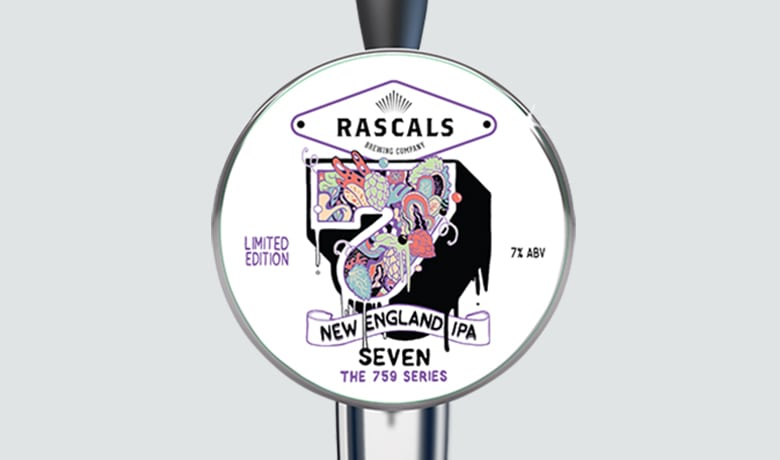 Rascals Craft Brewing 7 new england IPA