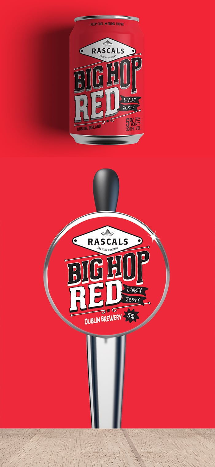 Rascals Craft Brewing Big Hop Red Ale Tasting Notes