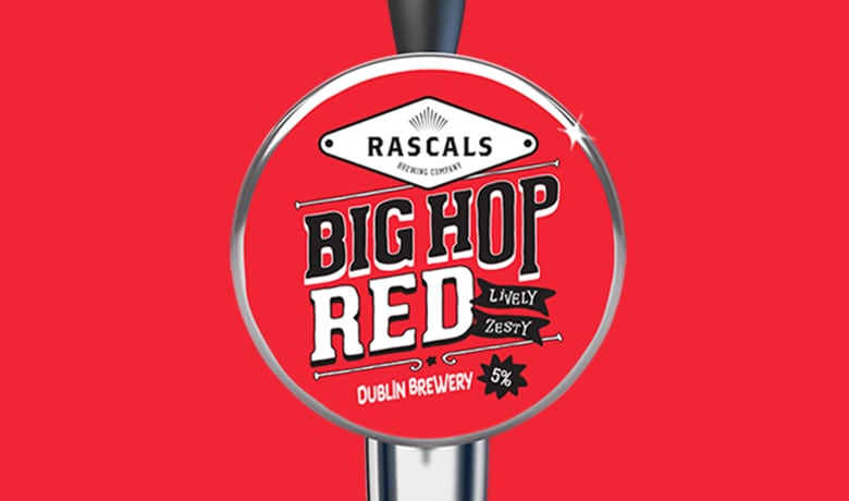 Rascals Craft Brewing Big Hop Red Ale