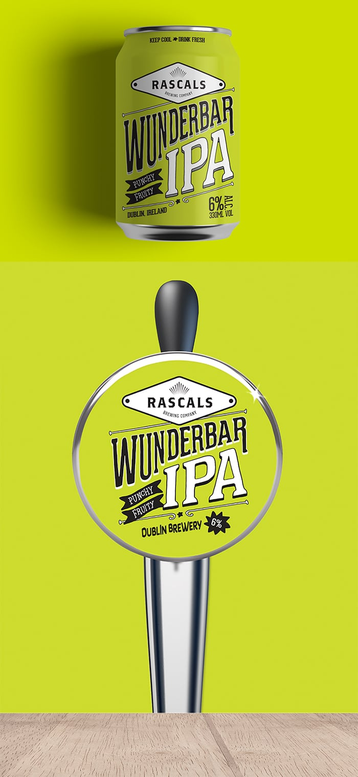 Rascals Craft Brewing Wunderbar IPA Tasting Notes