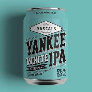 Rascals Craft Brewing Yankee White IPA