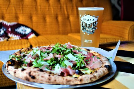 The best pizza in Dublin at Rascals HQ, with craft beer to go alongside it