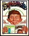mad magazine dynamite story ec 1974 alfred e. neuman idiot boy