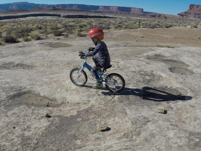 Biking the White Rim