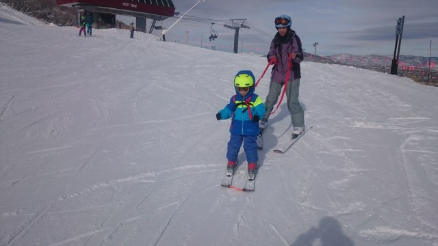 Skiing at Park City Resort