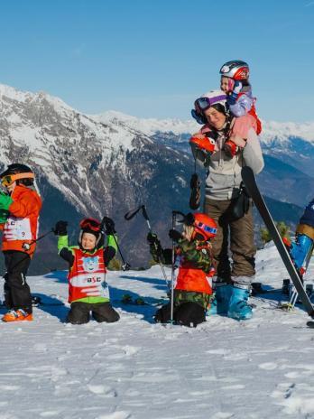 Rodzinny Sylwester w sercu Dolomitów