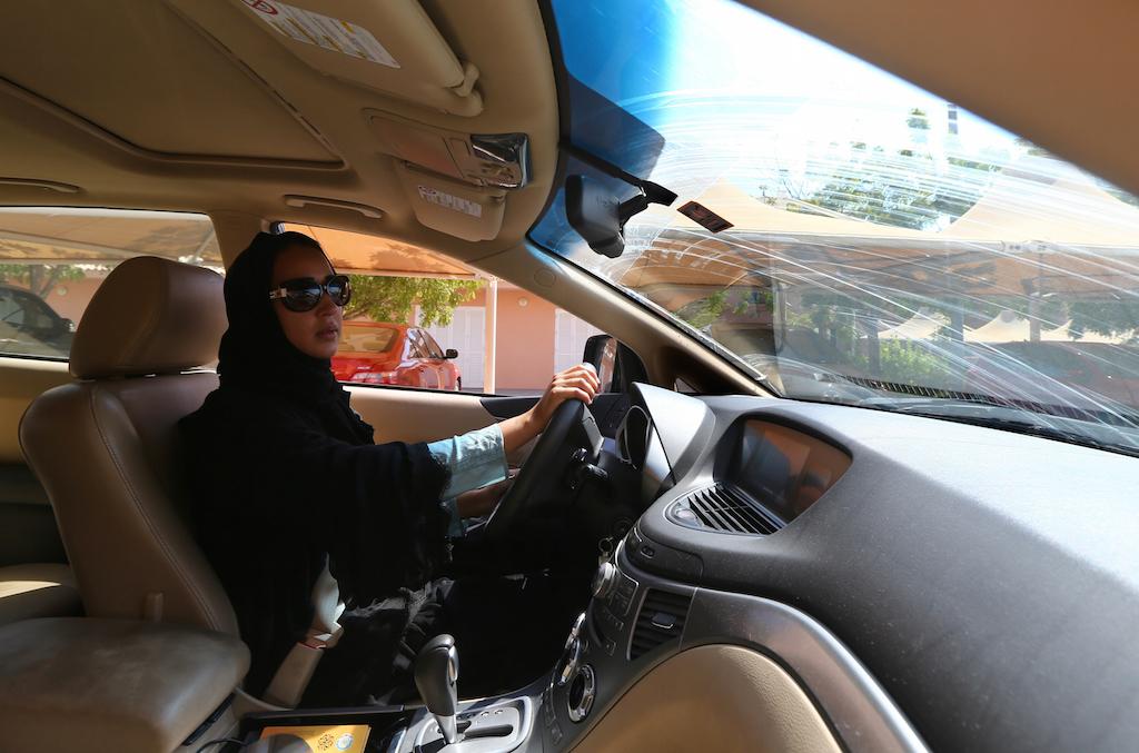 قيادة المرأة للسيارة في السعودية