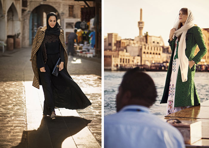 الموضة والحجاب - امرأة محجبة