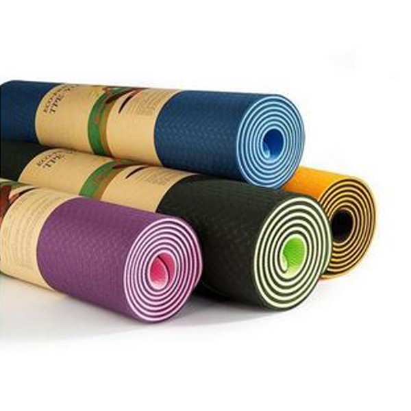 DOUBLE SIDED ECO-FRIENDLY YOGA MAT (01)