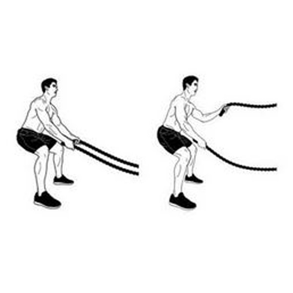 GYM BATTLE ROPE