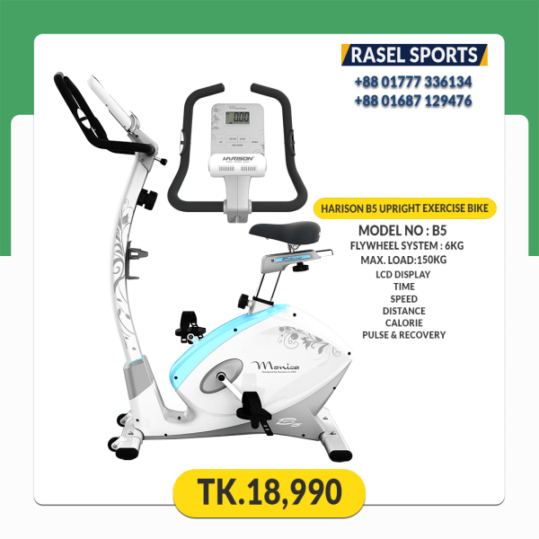 B5 Magnetic Exercise Bike Rasel Sports.com best price in bangladesh