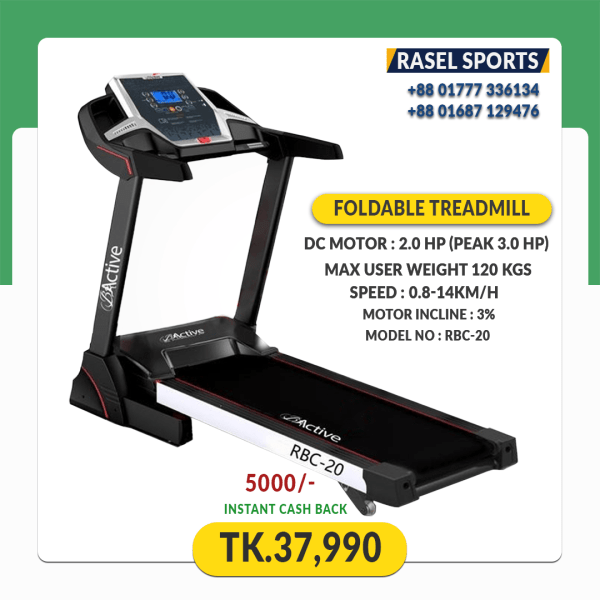 Bactive-RBC-20-Motorized-Treadmill