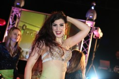 Bellydancer Rasha entertaining at a party