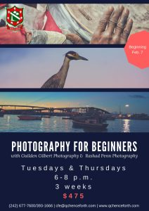 Bahamas Photography course