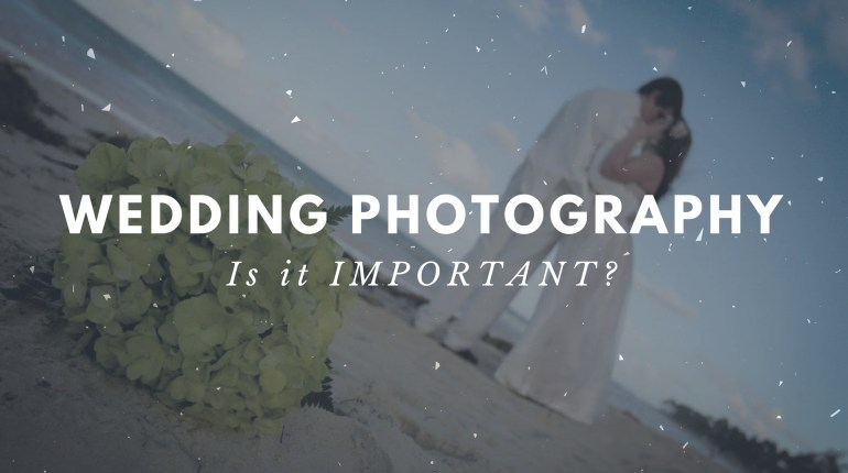 Wedding Photography isn't 'that' important, is it?