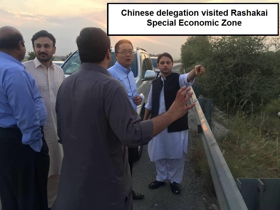 Chinese delegation visited Rashakai Special Economic Zone 2
