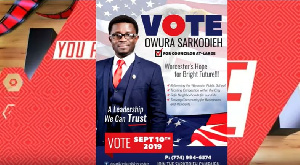 WE WILL TAKE OVER THE LAND OF AMERICA. GHANAIAN – USA CITIZEN DECLARES