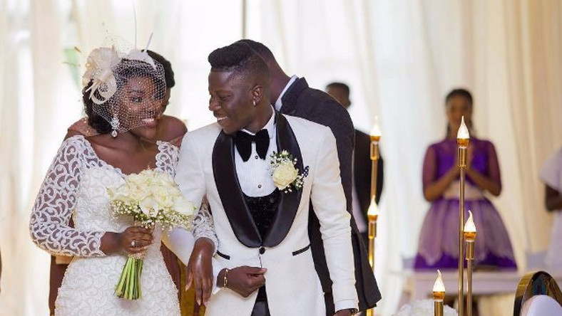 Stonebwoy and wife celebrate 2years anniversary