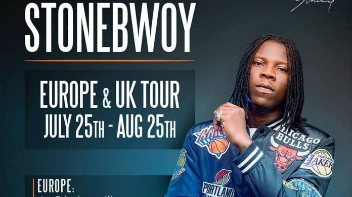 Stonebwoy All set For Europe Summer Tour