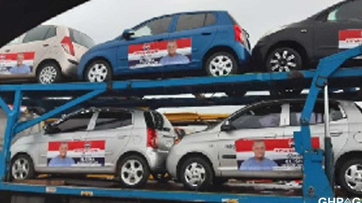 Defeated NPP MP aspirant takes back cars he shared to win delegates vote