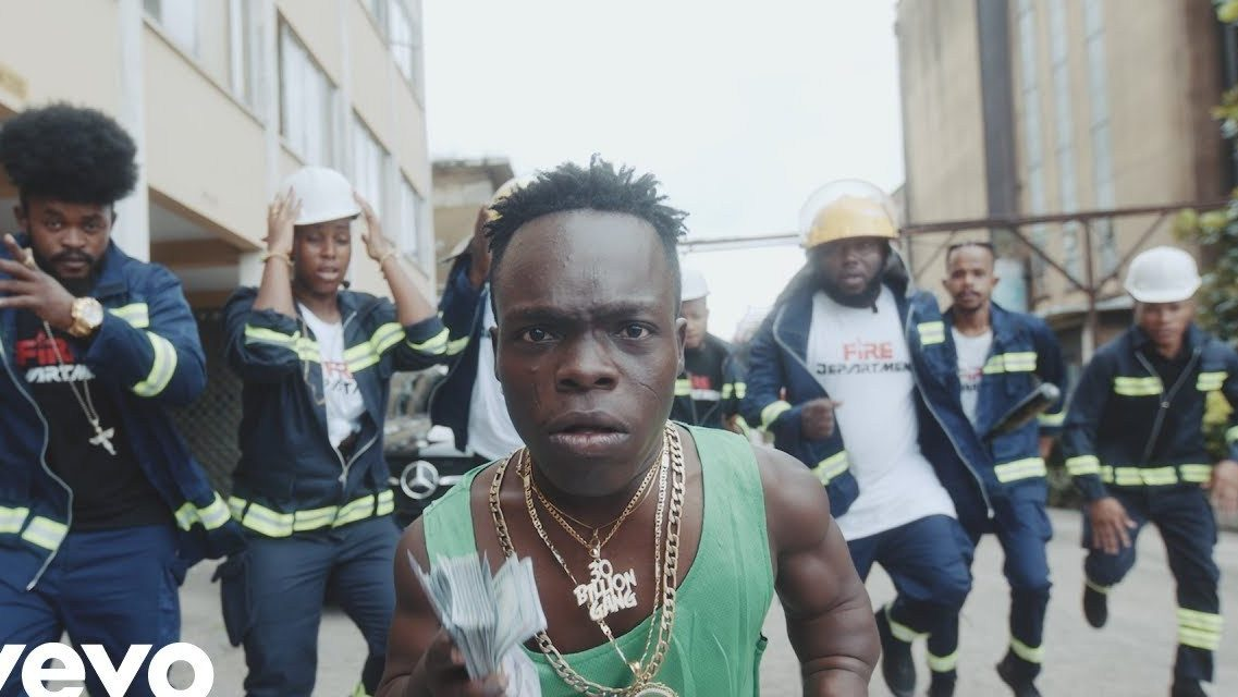 Shatta Bundle Features In PSquare's Rudeboy New Music Video