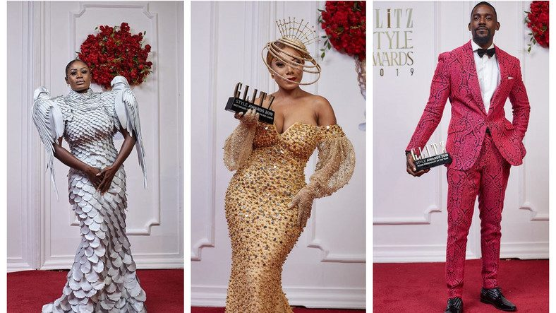 Photos from the  Glitz style awards 2019