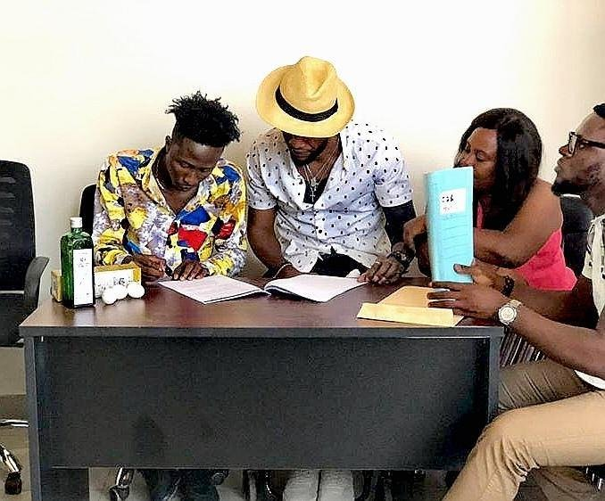 Ogidi Brown signs new artist with a Schnapp & Eggs