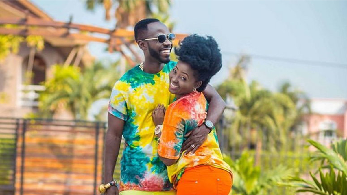 Beautiful Photos Of Okyeame Kwame And His Wife