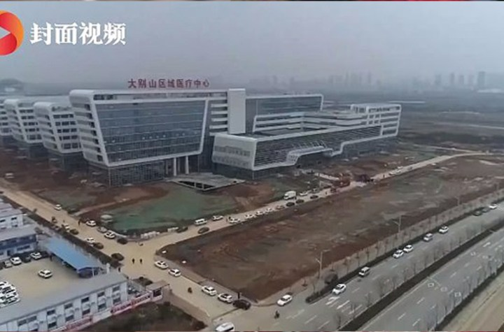 China opens 1,000-bed coronavirus hospital after just 48 hours of construction