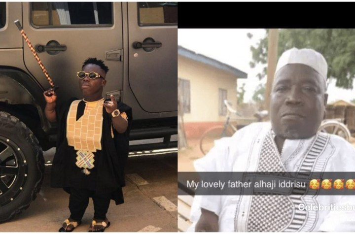 Shatta Bandle finally shares photo of his lovely father