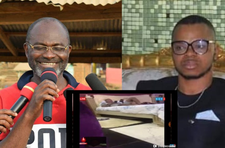 Kennedy Agyapong releases tape of Obinim and a church member he has chopped before