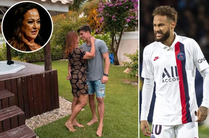 Neymar's 52 Year Old Mother Starts A New Romantic Relationship With A 22 Year Old Computer Gamer