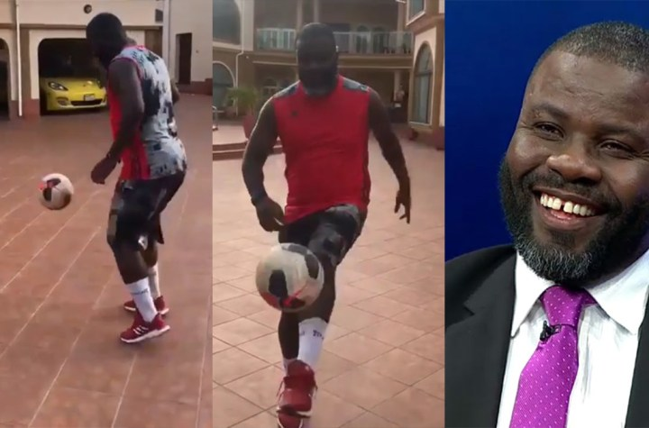 Sammy Kuffour flaunts his luxurious East Legon mansion (VIDEO)